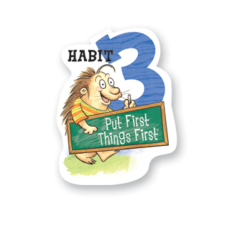 A graphic that reads Habit 3
